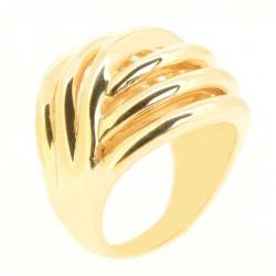 Anel Listras Dourado