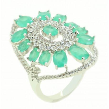 Anel Pedras Verdes