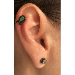 Piercing Gota Verde