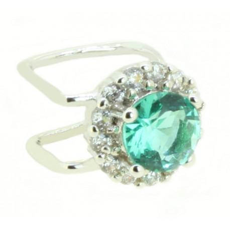 Piercing Oval Verde