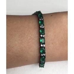 Pulseira Pedras Verdes