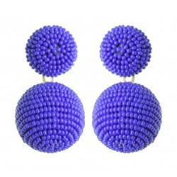 Brinco Bolas Azul