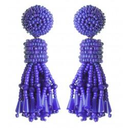 Brinco Franjas Azul