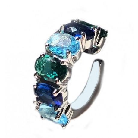 Piercing Pedras Azuis