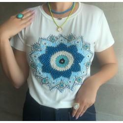 Camiseta Mandala Olho Grego