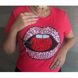 Camiseta Vermelha Boca
